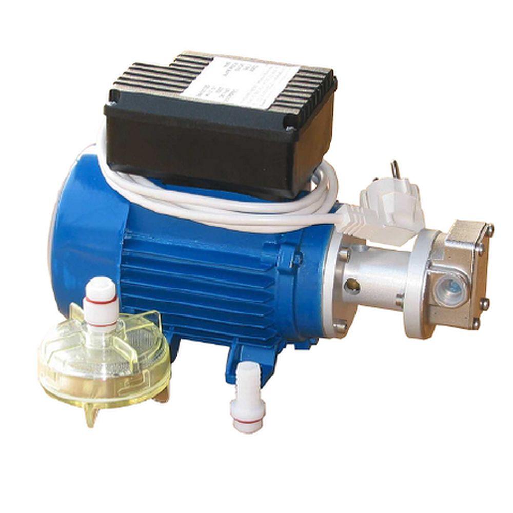 Pompa elettrica ad ingranaggi UPX/AC acciaio inox - 230 V