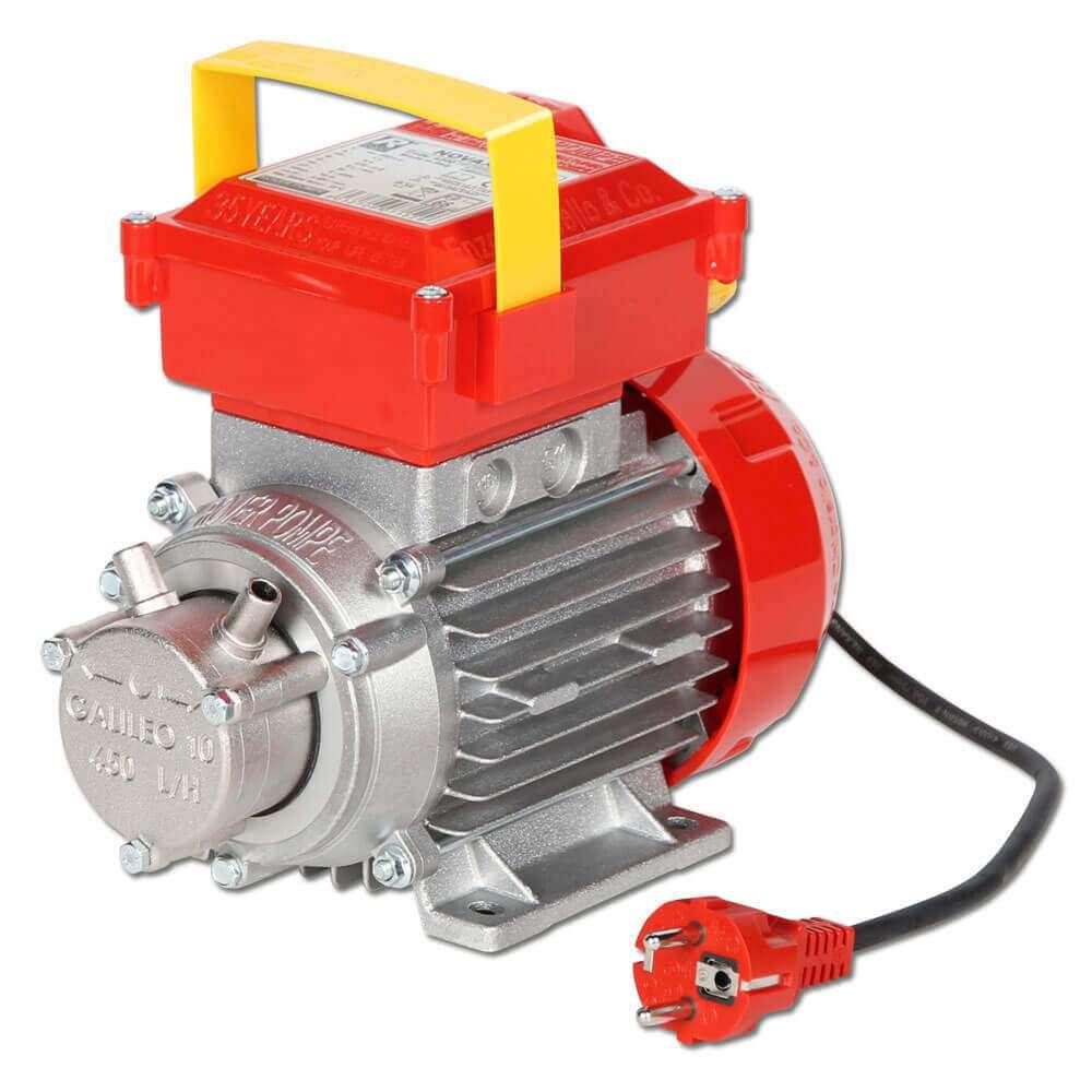 Kreiselpumpe Serie NOVAX Oil - rostfrei - 300-420 bis 11000-15000 l/h - Anschluss- Ø 10 bis 30 mm - lebensmittelgeeignet