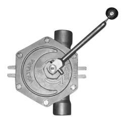 Stainless Steel Rotary Pump BINDA Voltiana - Hand Operated