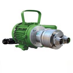 """Pompe à rouleaux """"R-NNVF8/1400"""" - 230 V - max. 18 l/min - à 8 bar - viton -  profondeur max. de 6 m d'aspiration - avec régulateur de pression - pour les aliments, l'alcool, les produits chimiques"""