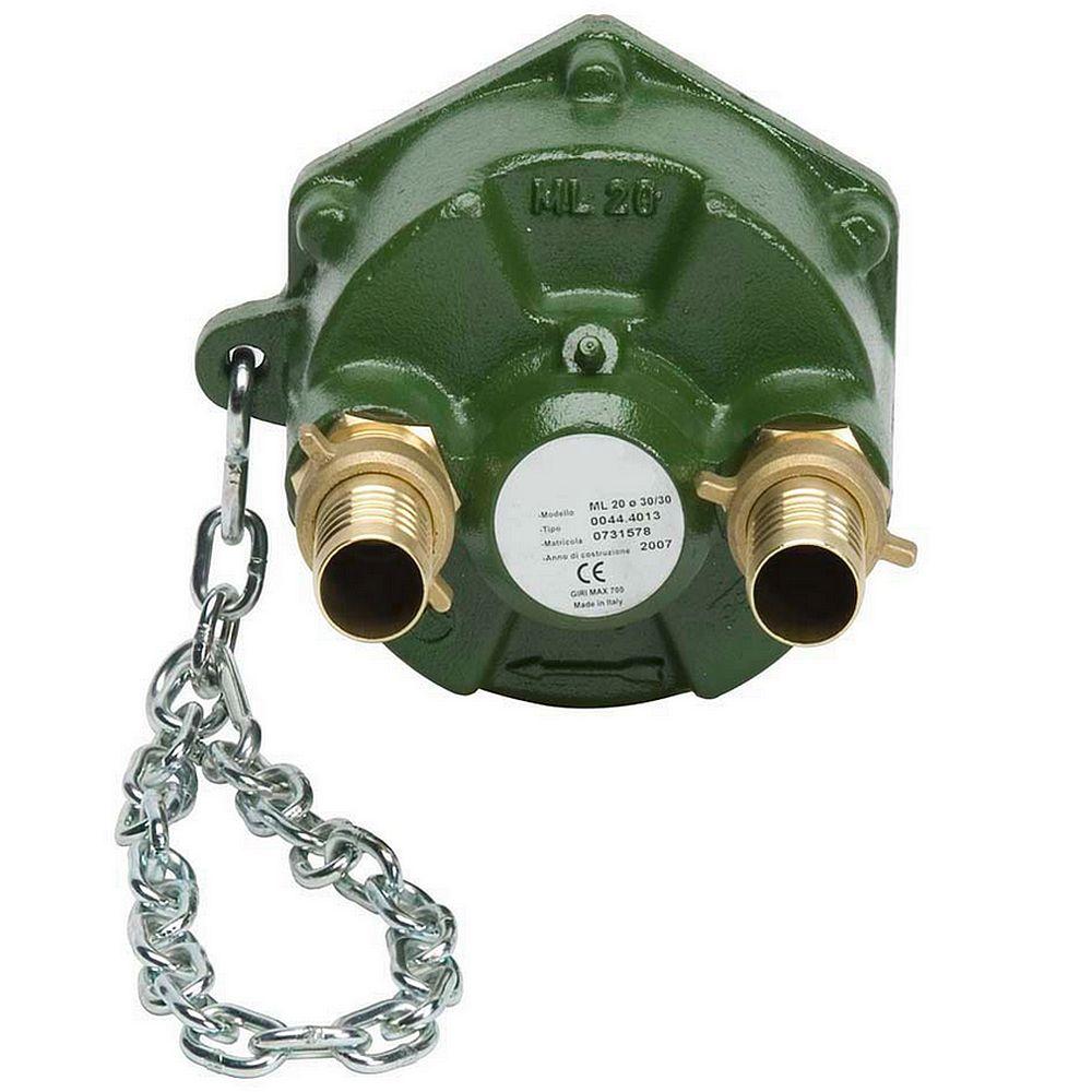 PTO-pump PTO 20 - tvätt / vattning - max. 25 bar - max. 700 rpm - med tillbehör