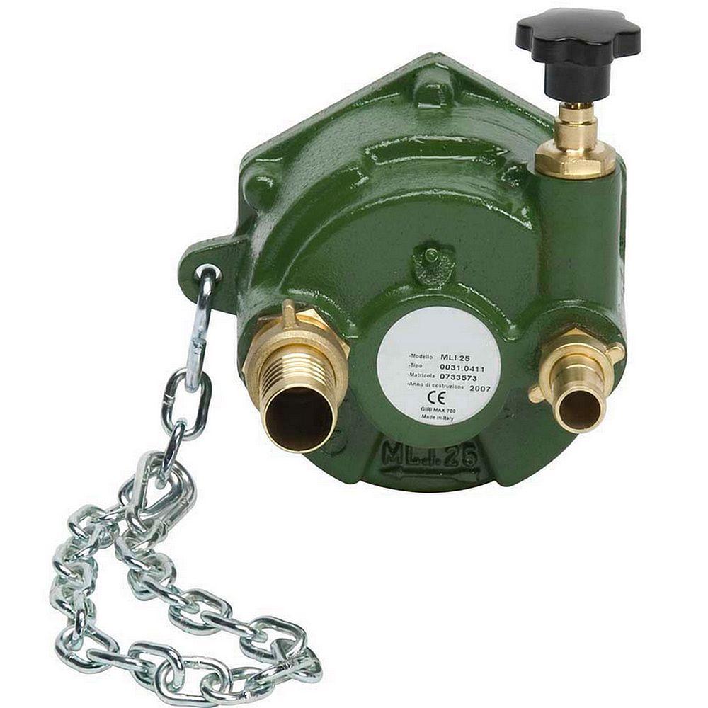 Zapfwellenpumpe PTO 25 mit BY-PASS - Waschen/Bewässern - max. 25 bar - max. 700 U/min - mit Zubehör
