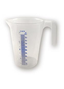 Plastic measuring cup 3 liters - with scaling