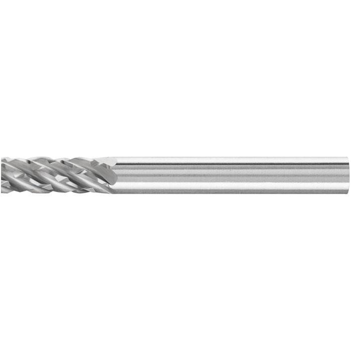 Frässtift - PFERD - Hartmetall - Schaft-Ø 6 mm - für Stahl - Zahnung STEEL
