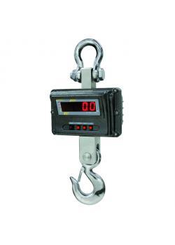 Kranwaage - max. Wägebereich 1000 bzw. 10000 kg - gemäß Norm EN 13155