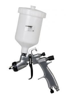 HVLP Farbspritzpistole 1,4 mm+600CC Kunstoff Fliessbecher