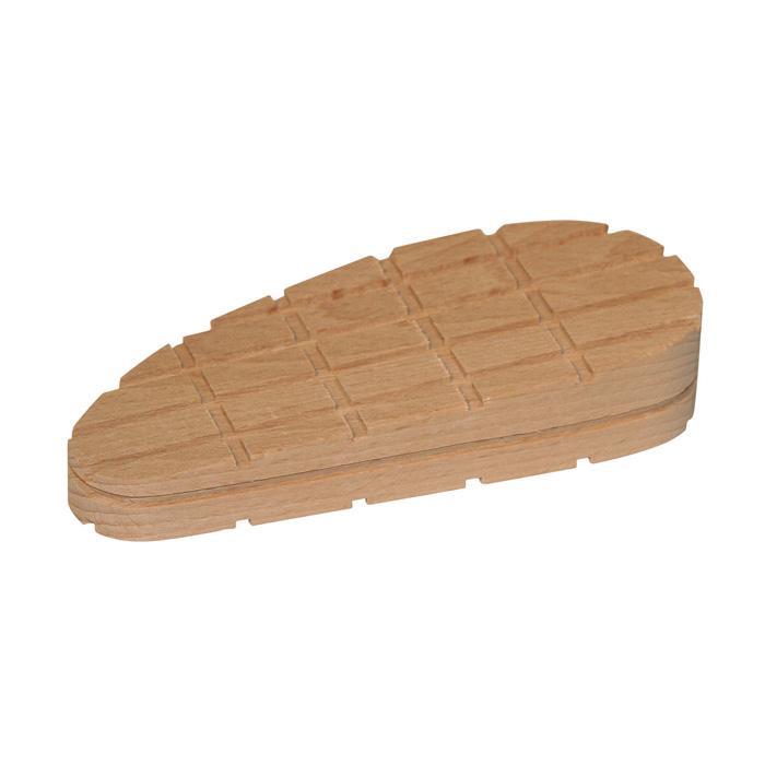 Träblock kilform - längd 112 till 130 mm
