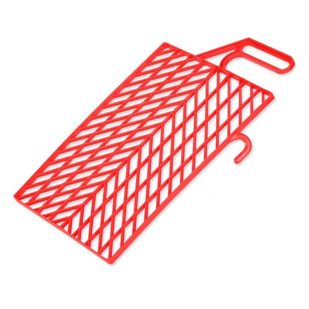 Målargaller - plast - röd
