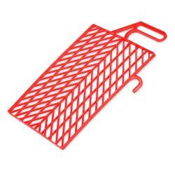 Abstreifgitter - Kunststoff - rot
