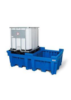 IBC-asema ECO - polyeteeni (PE) - 2 IBC: n suoraan pysäköintiin