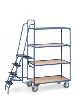 Commissionamento - con gradini - 4 piattaforme di carico