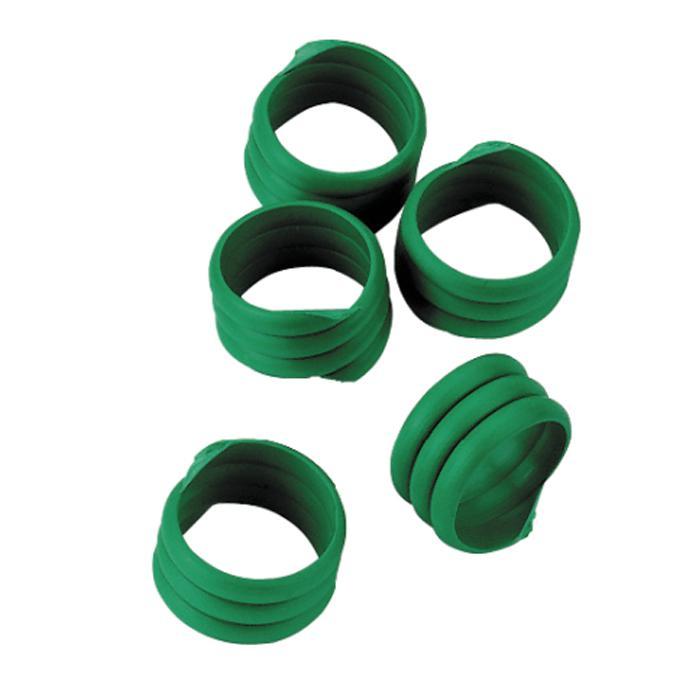 Spiralringar - Ring-Ø 12 till 20 mm - olika färger - Pris per förpackning