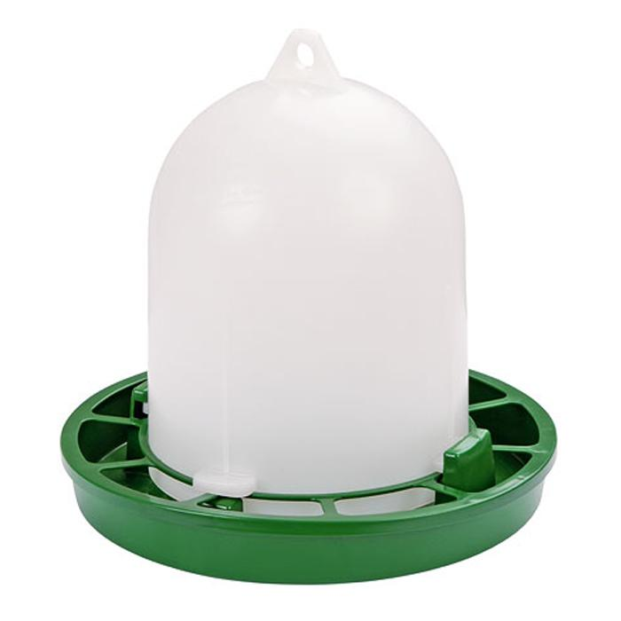 Feeder - Plastic - 1 to 4 kg - for quails, ornamental fowl, dwarf chicks
