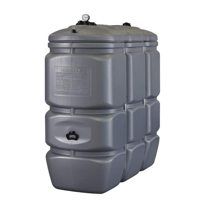 Dubbelväggig lagring och bortskaffande tank tillverkad av HDPE med ankinhaltsanziege - 1500 / 2000L