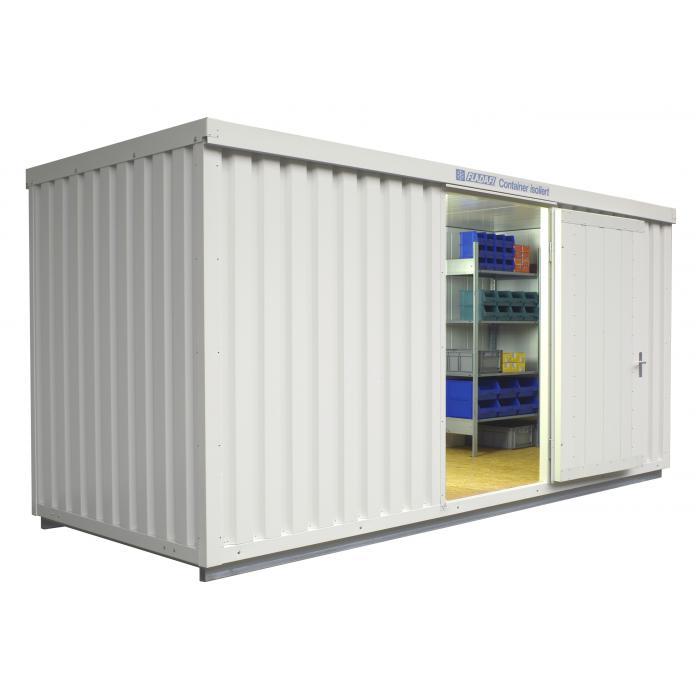 "Isoliercontainer ""IC 1500"" - isoliert - 10 m² - montiert - FLADAFI®"