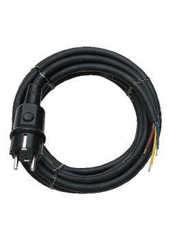 Anschlusskabel - für Stromverteilung - 3 m Kabel - Gummi