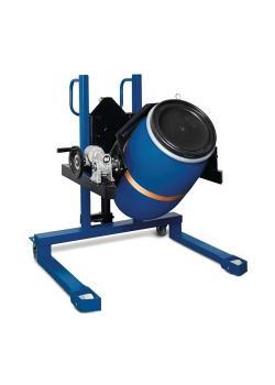 Fasslifter Servo FW 12 - Stahl lackiert - mit Hydraulikpumpe - für 60 bis 220-l-Fässer