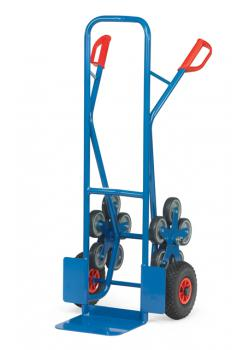 Stairclimber - to 200 kg - with 2 five-armed wheel-stars