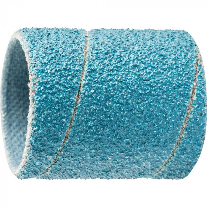 PFERD Schleifhülse GSB - Zirkonkorund Z - Zylindrische Form - Durchmesser 19 mm - Korngröße 40 bis 80 - VE 100 Stück - Preis per VE
