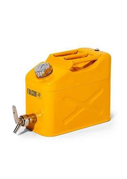 FALCON safety canister - painted steel - with fine metering tap