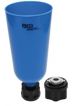 Öl-Einfülltrichter - mit Bajonettadapter - für VAG, MB, BMW, Porsche, Volvo