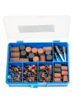Schleifkappen-Set - PFERD POLICAP® PCS 110 A - inkl. Schleifkappenträger