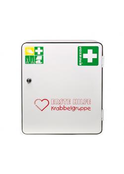 Erste-Hilfe-Verbandschrank - HEIDELBERG - Krabbelgruppe