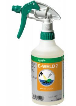 Svetssläppmedel E -WELD 2 - för flerskiktssvetsning - handsprayflaska 500 ml