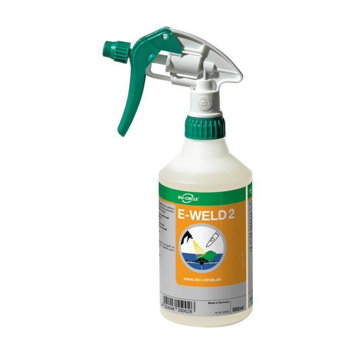 Schweißtrennmittel E-WELD 2 - für mehrlagiges Schweißen - Handsprayflasche 500 ml
