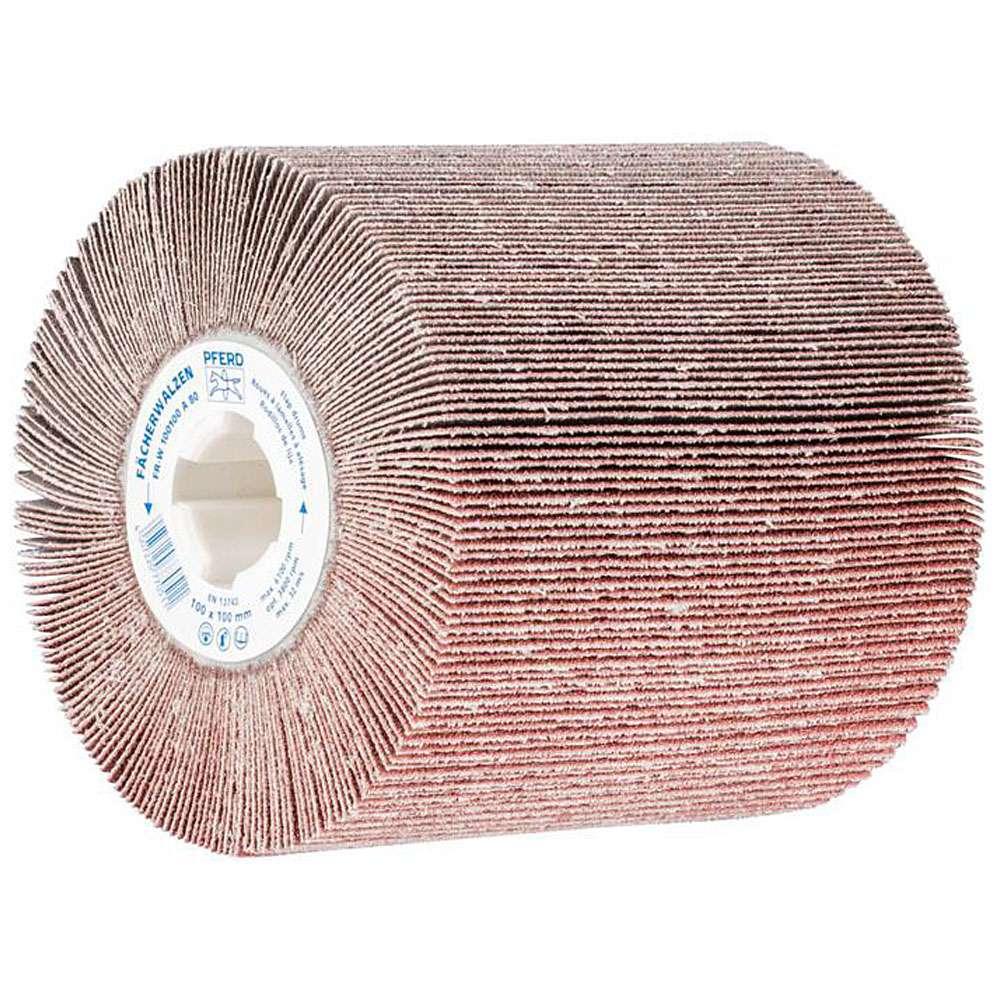 Schleifwalze - PFERD - Maße (D x T) 100 x 100 mm - für div. Werkstoffe