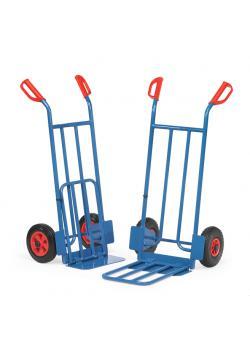 Package trolley - 250 kg - height 1150 mm - Klappschaufel