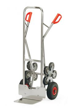 Aluminium stairclimber - to 200 kg - five-armed wheel star