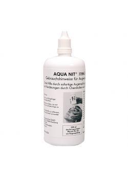 AQUA NIT® - ögonspolning - sterilt vatten - 250 ml
