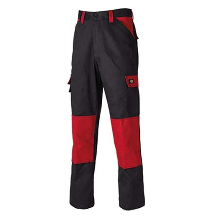 Arbetsbyxor - Dickies - storlek 21-126 - svart/röd