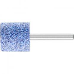 Schleifstift - PFERD - Schaft-Ø 6 x 40 mm - Härte J - Zylinderform - für Titan etc. - Bezeichnung ZY 2525 6 AWCO 30 J 5 V - D x T 25 x 25 mm - Korngröße 30