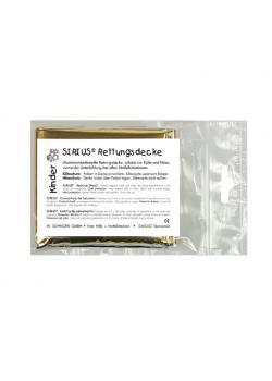 Barn SIRIUS® - Rescue filt - silver-guld