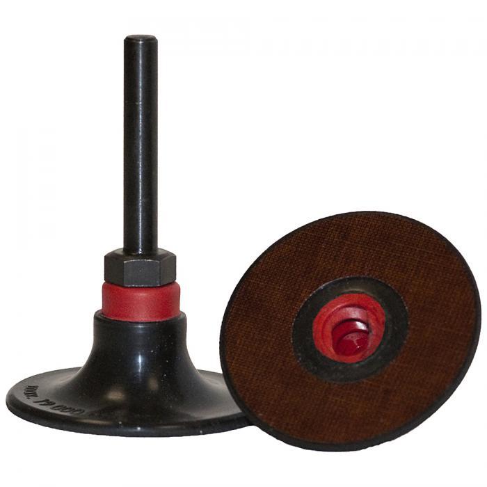 Stützteller QRC 555 - Durchmesser 25 bis 76 mm - Schaft 6 mm - Härtegrade medium und firm