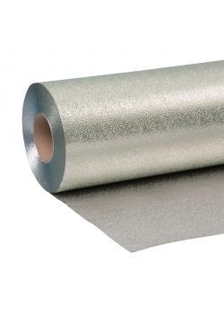 """Tapetisolierfolie """"Isofol"""" - aluminiumfolie med ensidig laminerad papperssida"""