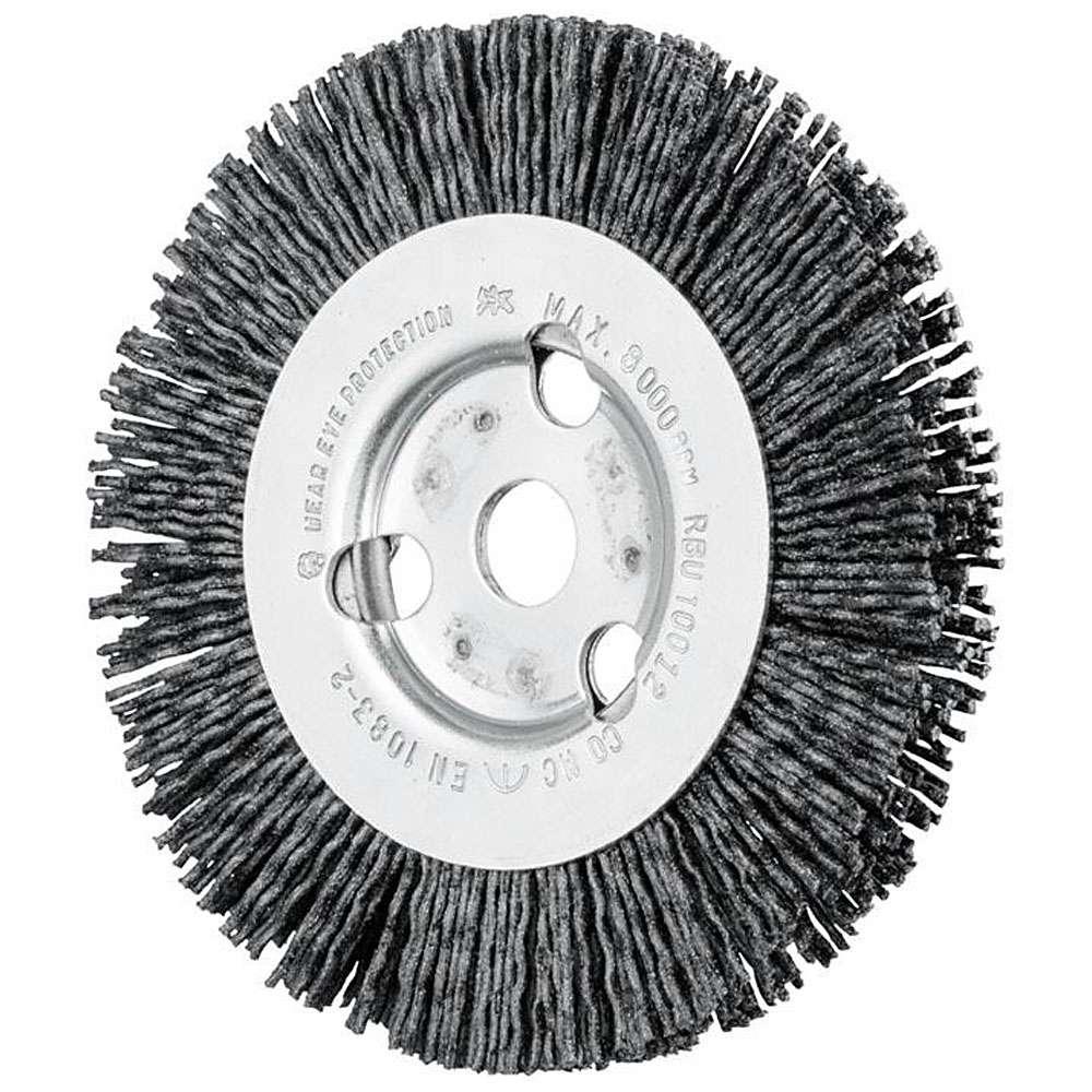 Rund borste - HÄST - Filament - för andra metaller än järn, titan, rostfritt stål, trä, bland andra