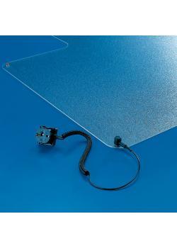 Antistatisk matta och avledarkabel - Transstat® - För hårda golv