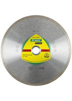 Diamanttrennscheibe DT 600 F - Durchmesser 100 bis 230 mm - Bohrung 16 bis 22,23 mm - gesintert