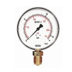 Feinskaliertes Manometer - 16 bar