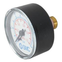 Restposten - Manometer - Ø 50 mm - Anzeige  0 bis 10 bar