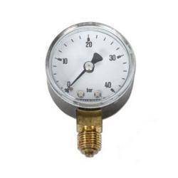 Restposten - Manometer - Ø 50mm - Anzeige 0 bis 40 bar