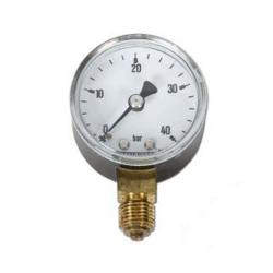 Manometer - Ø 50 mm - 0-40 bar