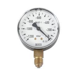 Restposten - Manometer - Ø 63 mm - Anzeige -1200 bis 0 bar