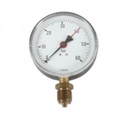 Restposten - Manometer Ø100mm - Anzeige  0 bis 60 bar
