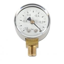 Restposten - Manometer - Ø 40 mm - Anzeige  -1 bis 0 bar