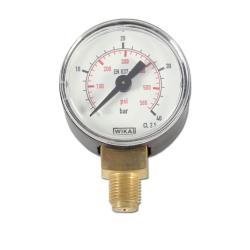 Restposten - Manometer - Ø 40 mm - Anzeige  0 bis 40 bar