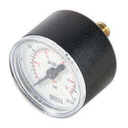 Restposten - Manometer - Ø 40 mm - Anzeige  0 bis 1,6 bar
